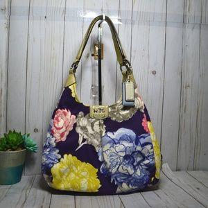 Rare Coach 1941 Shoulder Madison Maggie Floral Bag